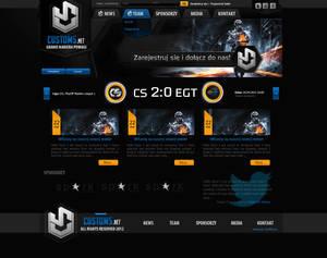 Website Custom5.NET Gaming