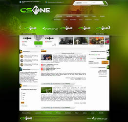Website CSOne Gaming and League