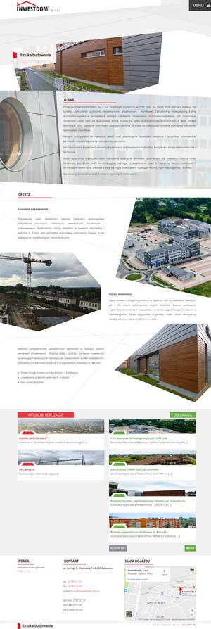 Website Inwestdom Sp. z o.o.