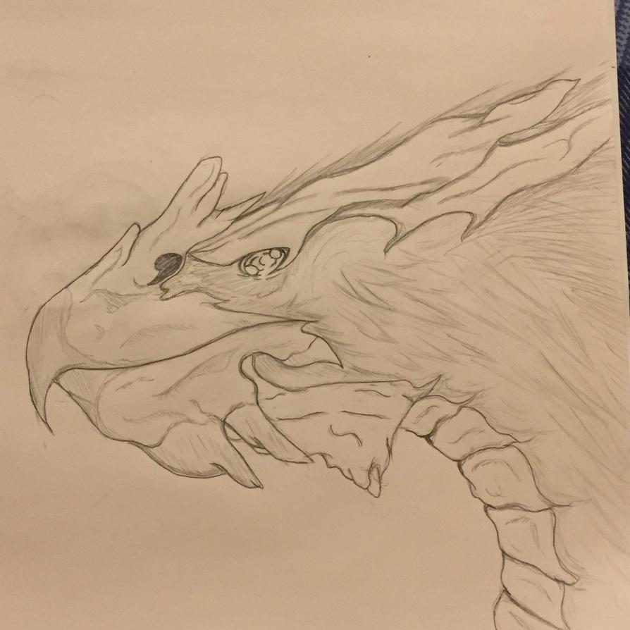 Dragonized Terror Bird- Creature Files by DormantTeddy