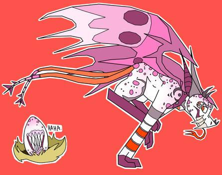 egg reveal ~ SERILDO by BlowUpBlood