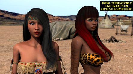 (Live on Patreon) Tribal Tribulations 2:The Outlaw by avs3d
