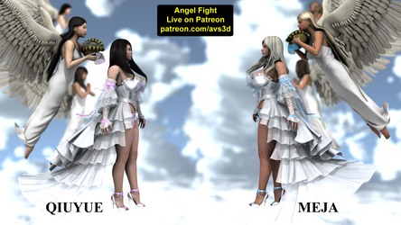 (Live on Patreon) Angel Fight preview 5