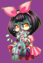 Zombie cutie by rap1993