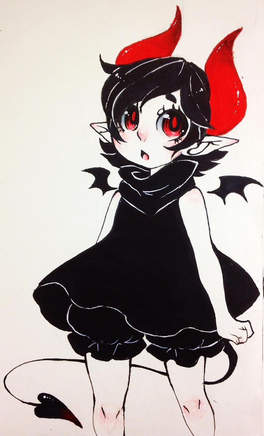 Lil devil girl