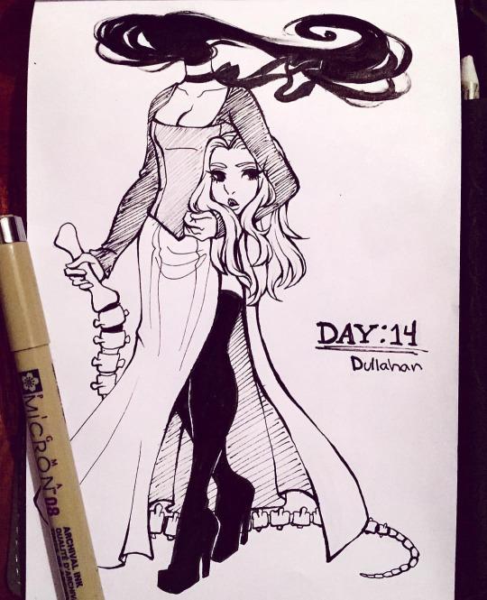 Inktober Day 14 Dullahan By Rap1993 On DeviantArt