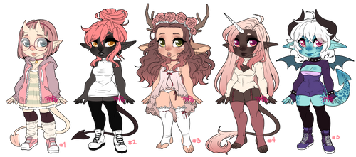 Assorted Adoptables Auction CLOSED by rap1993
