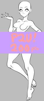 P2U Full Body Base3 - 200pts/$2