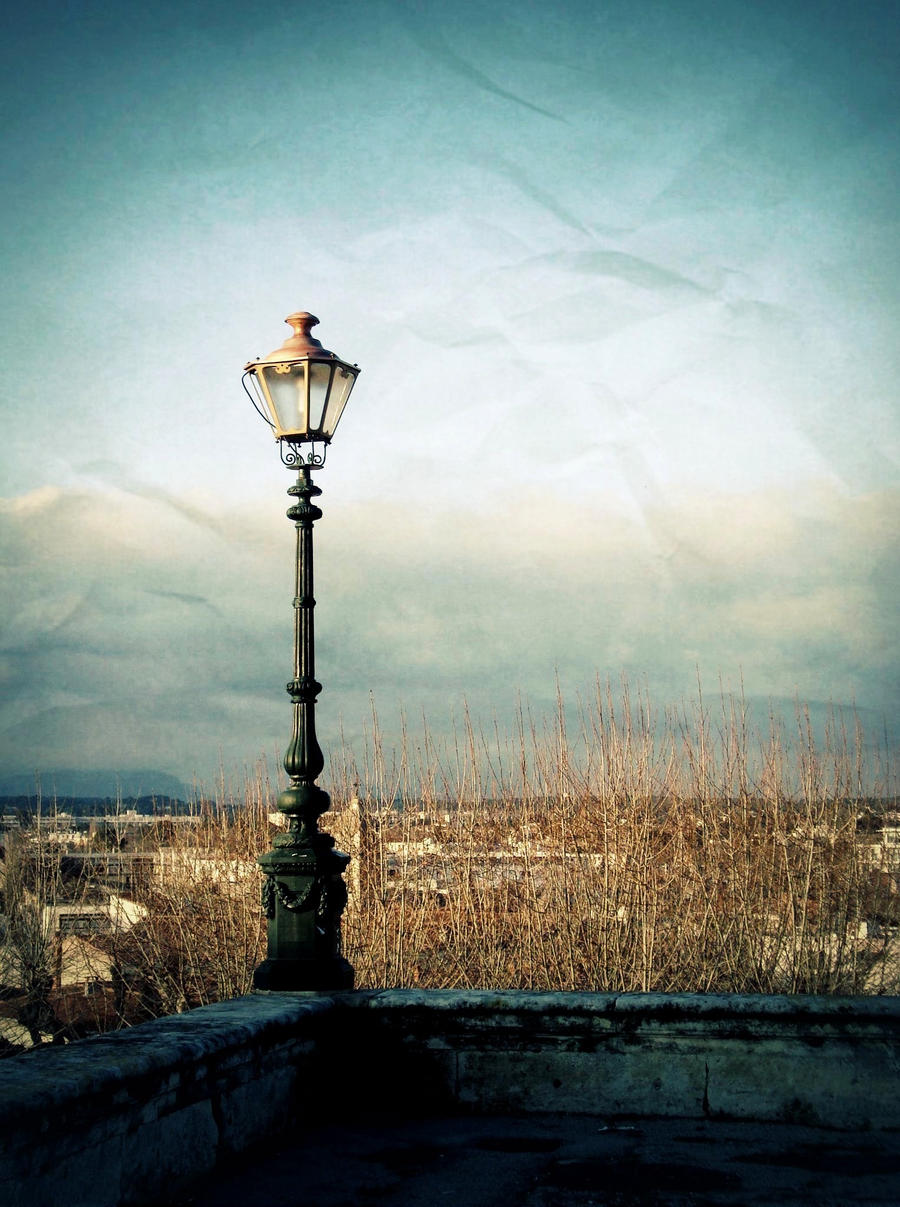 The street lamp by anneclaires on DeviantArt for Street Lamps Photography  599kxo