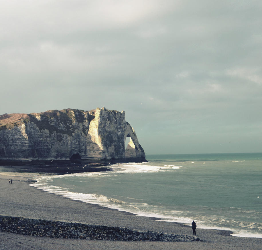 Etretat by anneclaires