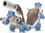 Blastoise And Mega Blastoise