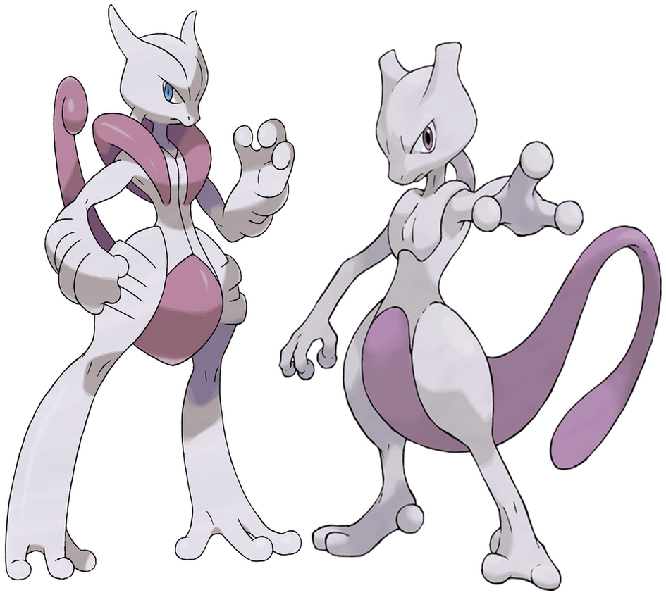 Mewtwo and mega mewtwo x by frie ice on deviantart - Mewtwo y mega evolution ...