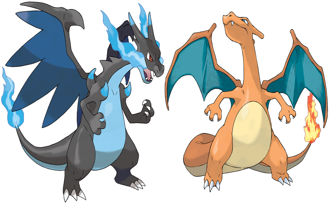 [Image: charizard_and_mega_charizard_x_by_frie_ice-d6perw9.png]