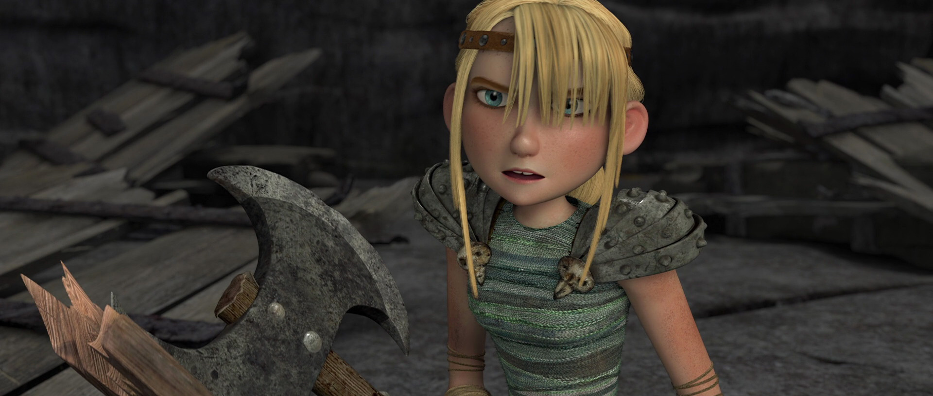 Astrid Hofferson How to Train Your Dragon & Anna Frozen