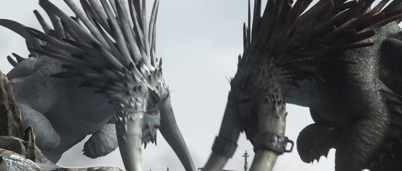 how to train your dragon bewilderbeast