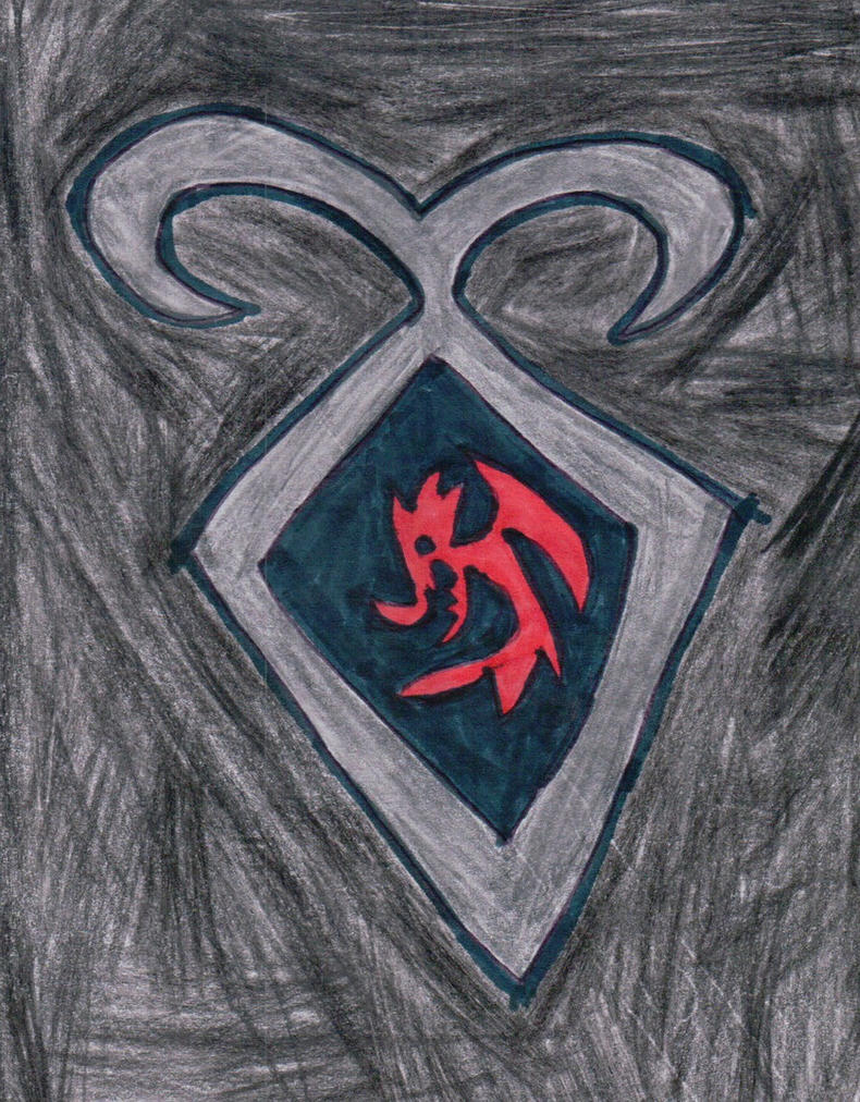 Hiccup's Shadowhunter Crest by Frie-Ice