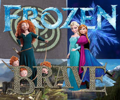 Frozen Brave Poster