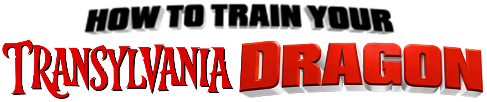 How to Train Your Transylvania Dragon Logo by Frie-Ice