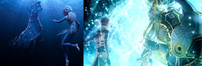 Elsa and the Nokk - Lightning and Odin