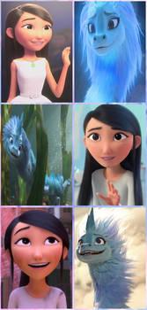 Li Na and Sisu Collage