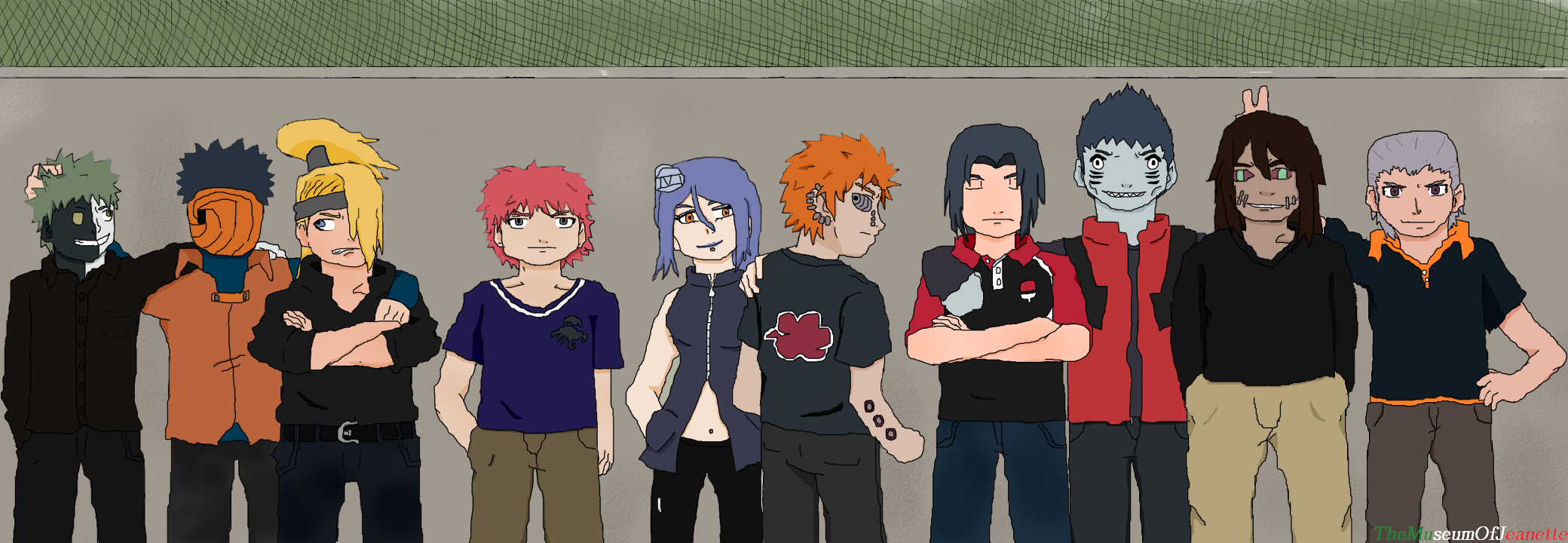 team akatsuki ~ naruto shippudenthemuseumofjeanette on deviantart