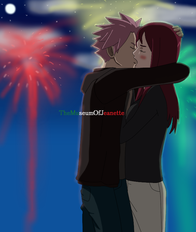 Fireworks ~ Fairy Tail by TheMuseumOfJeanette