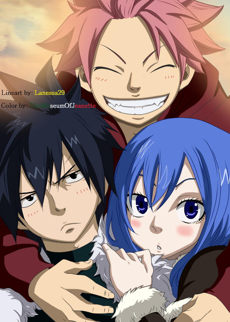 Nice Partners, Nice Friends! ~ Fairy Tail by TheMuseumOfJeanette