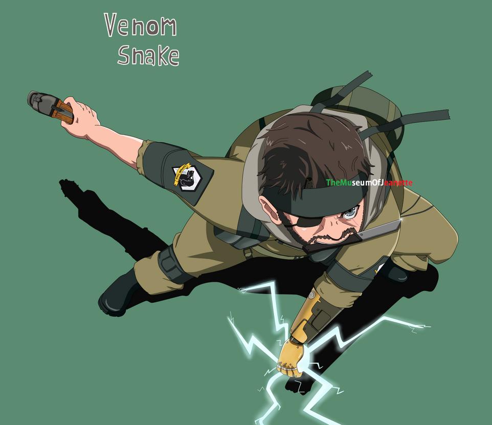 Venom Snake ~ Metal Gear Solid V by TheMuseumOfJeanette