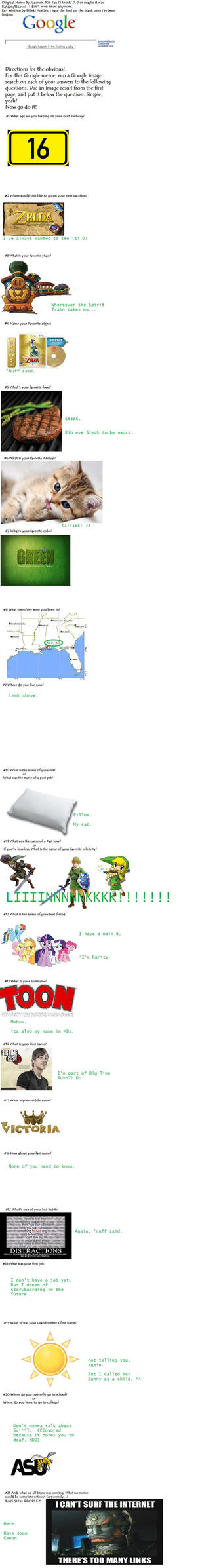 Google Meme by ToonKendal