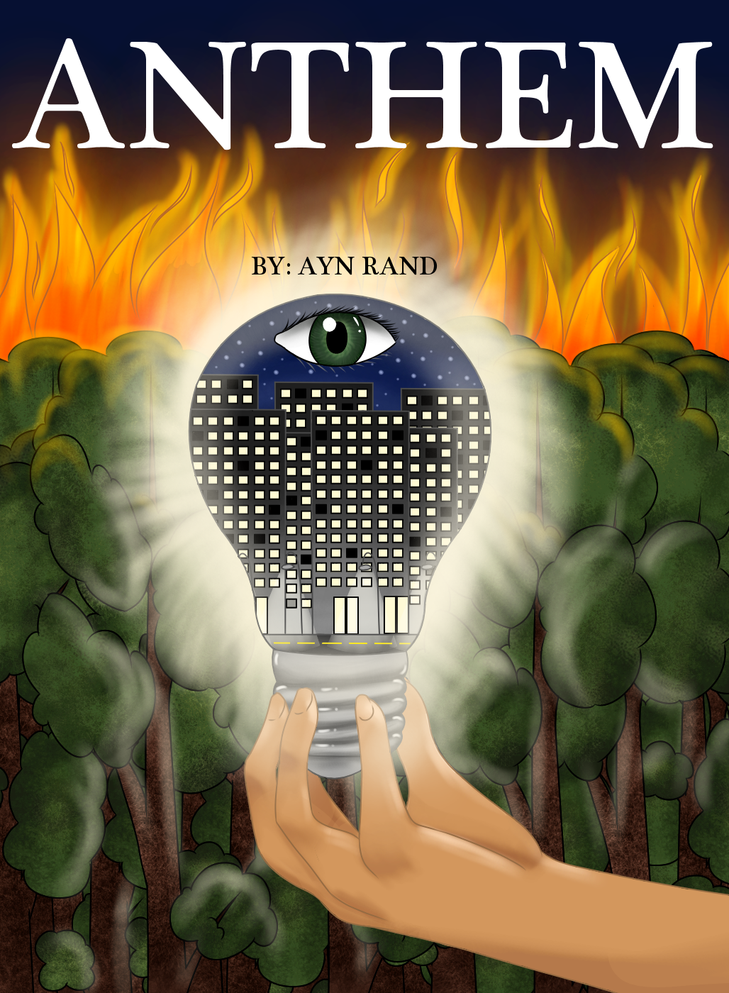 Anthem By Ayn Rand Cover Finale By Crystalcat23 On Deviantart