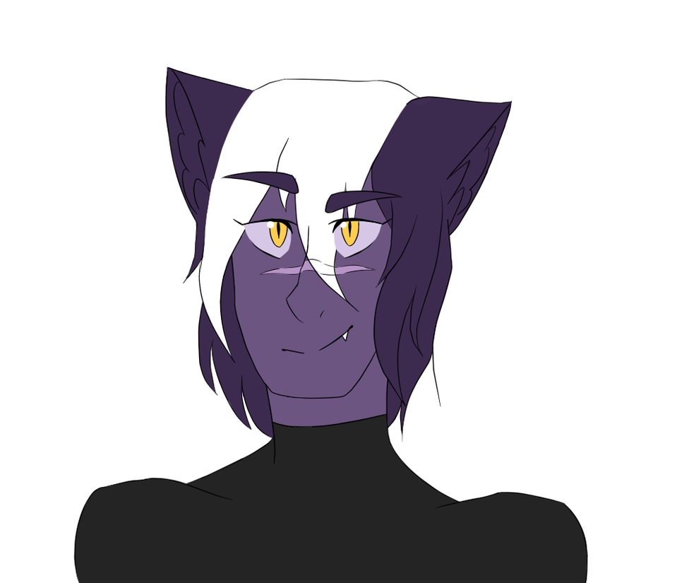 Galra Shiro by crystalcat23