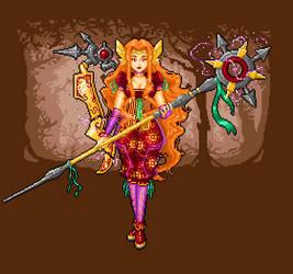Priestess of the Aladeoro tribe
