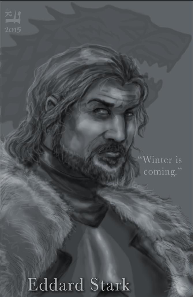 Eddard Stark by ChadFeldpausch