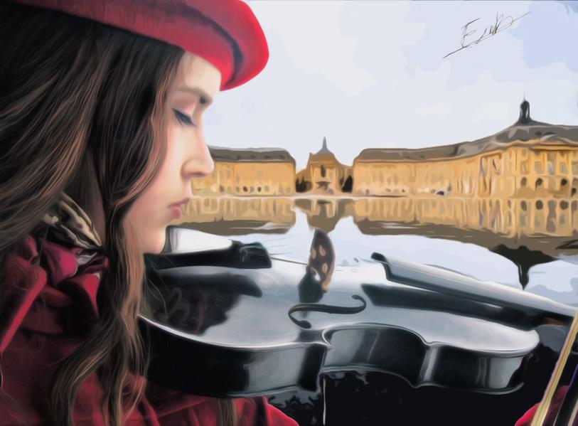 Violinist by ErikAcosta