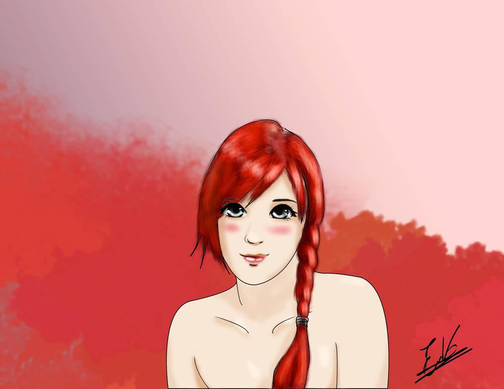 Redhead girl by ErikAcosta