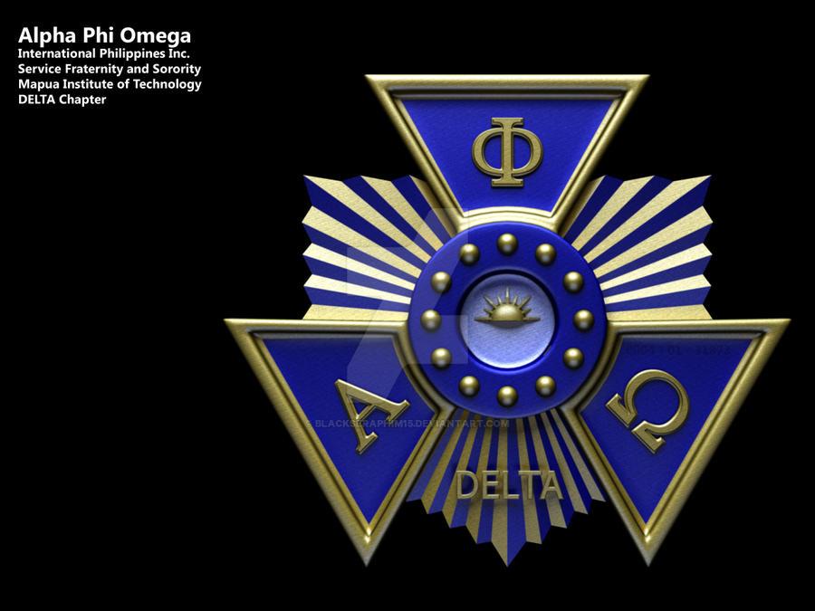 Alpha Phi Omega Seal By Blackseraphim15 On Deviantart