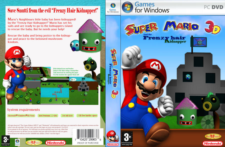 mario fake cover by michael0808 on deviantart