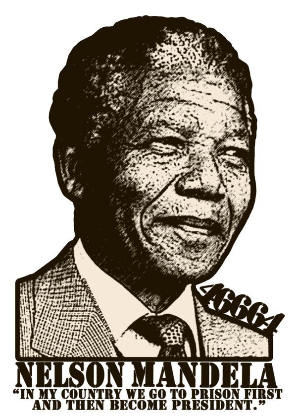 NELSON MANDELA: MY HERO by chagogago