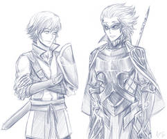 Inigo and Gerome by FimbulvetrIce
