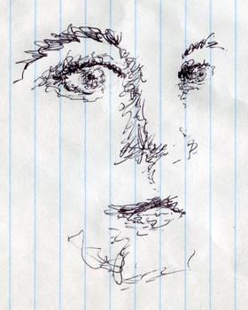 Female Face (Scribbles)