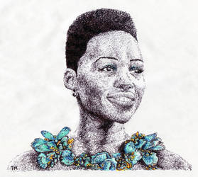 Lupita Nyong'o (Scribble)