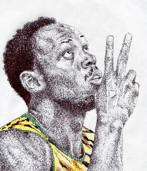 Usain Bolt (Scribble)