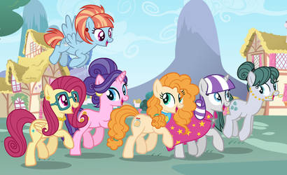 Younger Mane Six Moms (C)