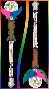 Amatae's Spear-Staff (Contest)