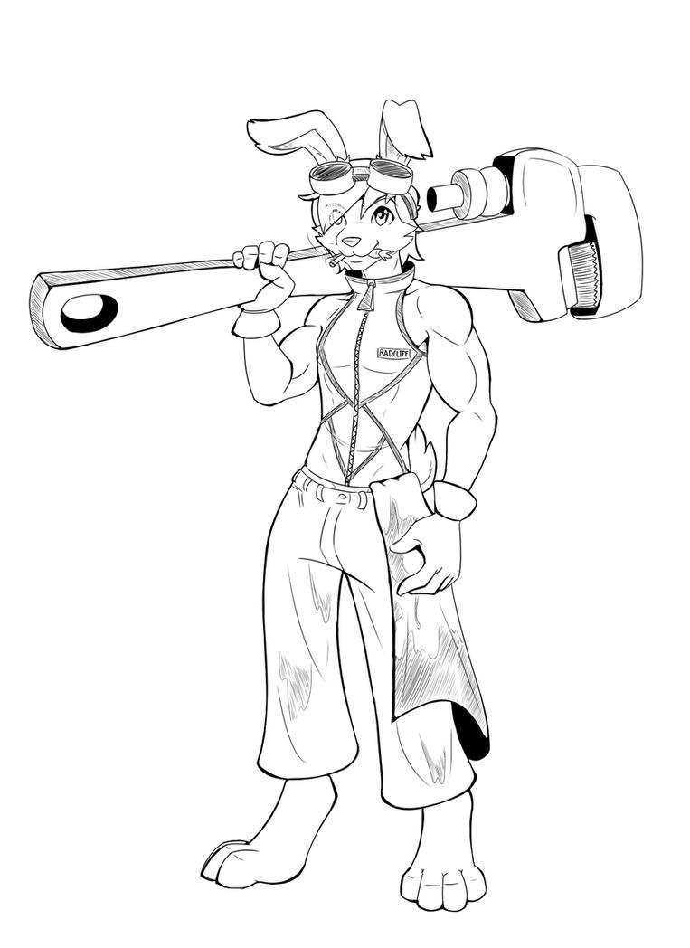 Radcliff Bunny mechanic by Bethelon