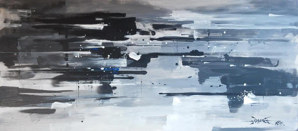 Rush In Grey Scale2 by koalapaul