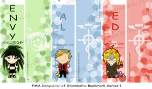 FMA Bookmark Series 1