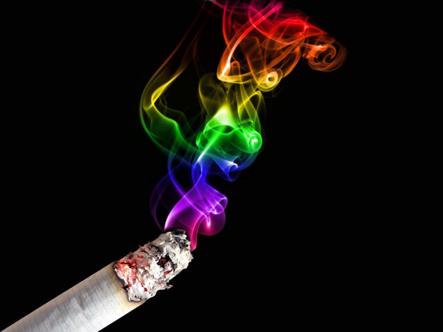 rainbow smoke wallpapers r - photo #46