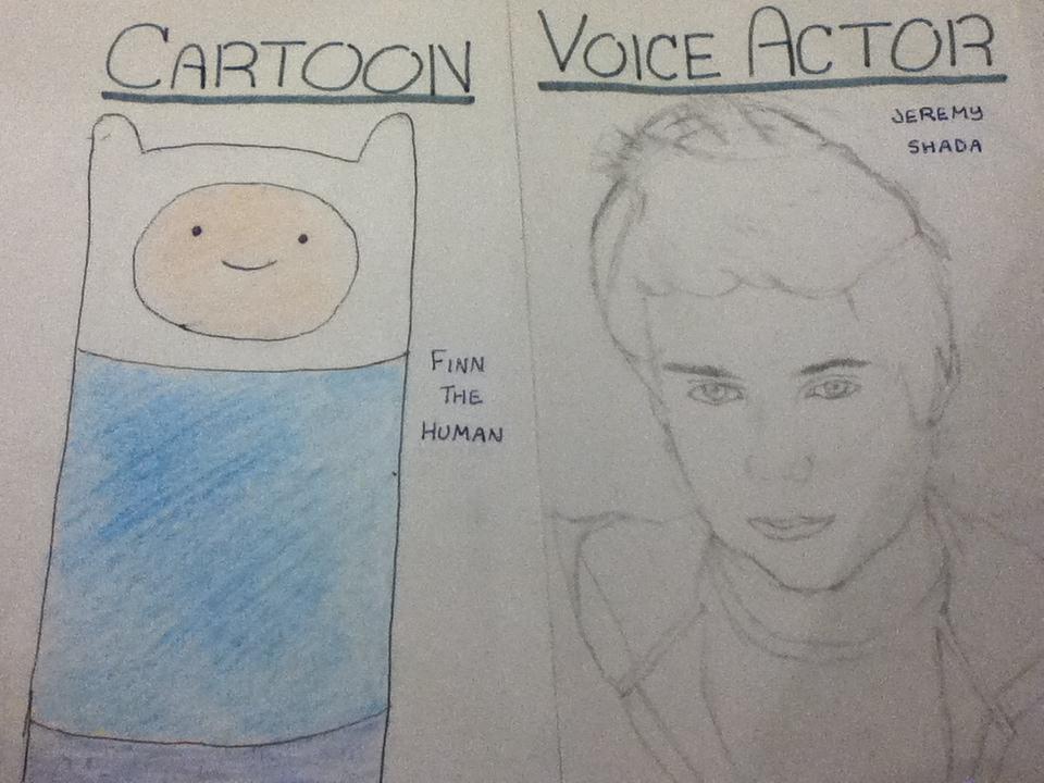 Cartoon v  Voice Actor  Finn the Human by greenpandaninjaVoice Of Finn The Human