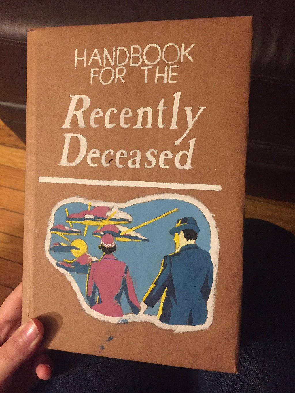 Beetlejuice Handbook for the Recently Deceased Book movie prop